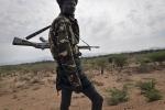 Kenya, Turkana County, March 2018 - Shepherd from Kakonk'u village, close to Lokichar. Desertification brings drought and famine